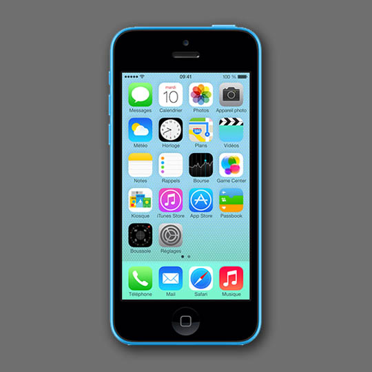 Location de smartphones Apple iPhone 5C